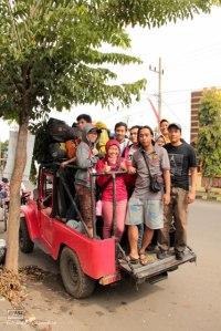 Kelompok Tegal Alun di Jeep