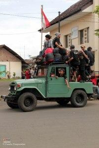 Kelompok Kawah Ratu di Jeep
