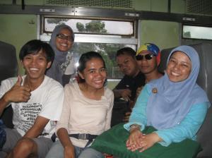 Tim Pancoran di Kereta Matarmaja