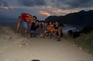 Senja di Pantai Papuma